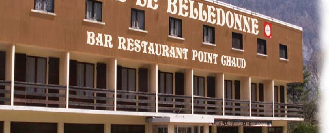 "Hotel restaurants ""le Belledonne"""